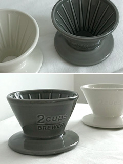 [KINTO] 킨토 슬로우 커피 드리퍼 2cup (2colors)